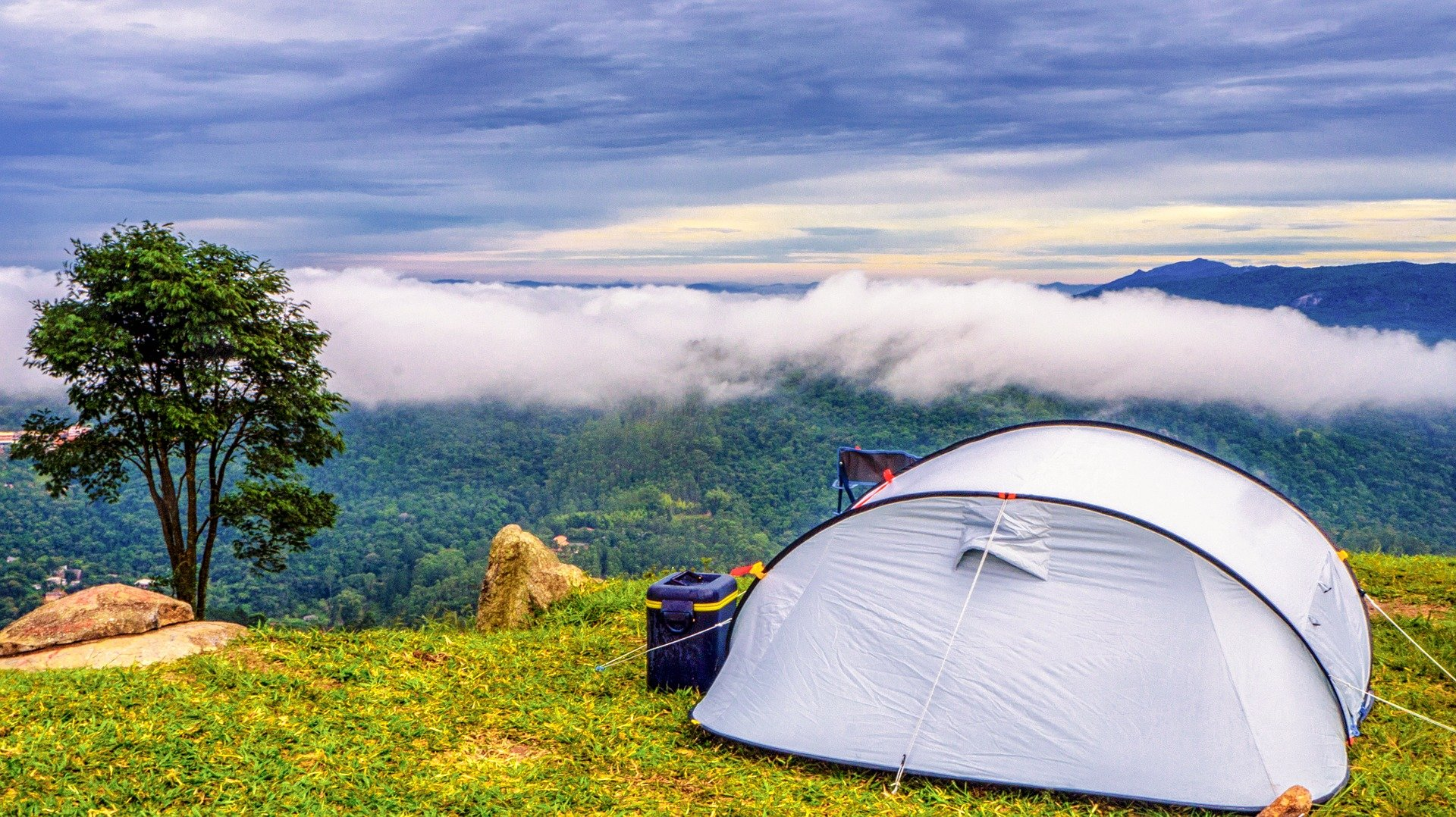 Camping hire