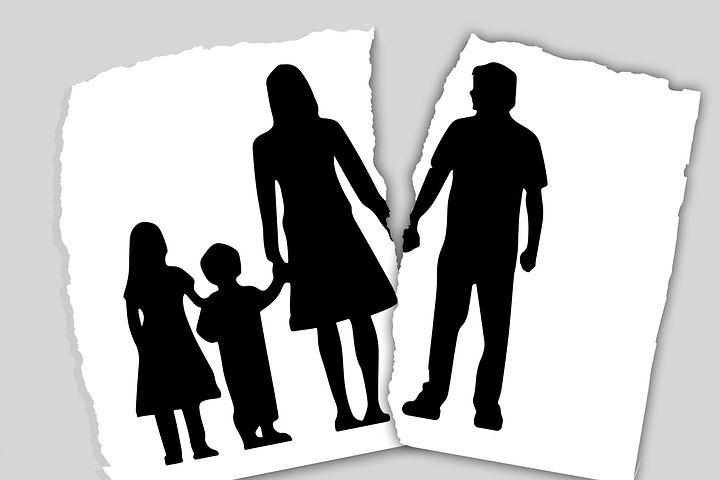 Family facing divorce